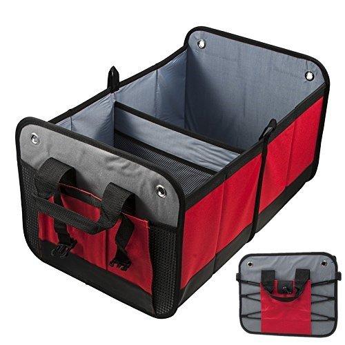 車用収納ボックス 折り畳み式 多機能 大容量 2 ボックス トランク置物 動車用 カーアクセサリー 車収納 雑物整理整頓