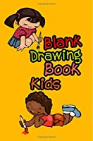 Blank Drawing Book Kids Journal