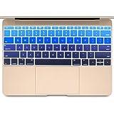 [Mast cart] 2015年 新しい MacBook 対応 キーボードカバー (12インチ) (英語 US配列(カナ無し), ダークブルー)