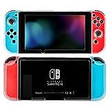 (ケテン)Keten Nintendo Switch カバー PCケース 本体+Joy-Con カバー ニンテンドースイッチ 任天堂 ハードケース 高透明 キズ防止 クリアスタイル