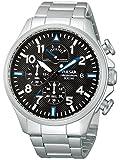 [セイコー パルサー]SEIKO PULSAR レトログラード式 100m防水 クロノグラフ 腕時計 メンズ PS6049 [並行輸入品]