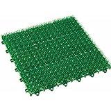 日本製 人工芝 若草ユニット E-V グリーン  1枚