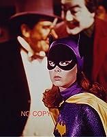 大きな写真、TV「バットマン」キャットウーマン、背後にジョーカー