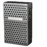 BOX シガレット ケース ( 箱用 灰色 アルミ )( 1箱 メンズ タバコ 煙草 たばこ )