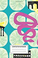"""Notebook: Limonata , Journal for Writing, Size 6"""" x 9"""", 164 Pages"""