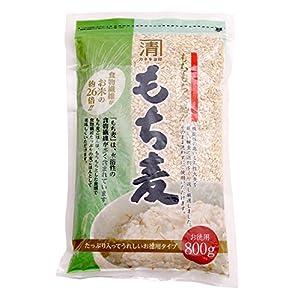 西田精麦 もち麦 800g もちもち食感 麦ごはん