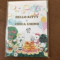ハローキティー ×羽海野チカ コラボ メモ帳