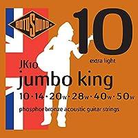 ROTOSOUND JK10 アコースティックギター弦(6弦) (ロトサウンド)