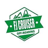 OFF ROADING FJ CRUISER FJクルーザー カッティング ステッカー グリーン 緑