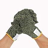 YQCS●LS 切削防止手袋高温耐性手袋耐摩耗性と機械金属FRP産業に適した耐久性、自動車修理溶接作業用手袋、Lコード