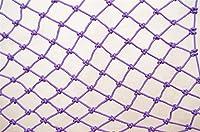 子供用セーフティネット - 3m L X 2m H安全手すり階段メッシュネット子供用子供用ペットペット用安全階段プロテクター取り外し可能なバルコニーと階段用セーフティネット (Color : Purple)