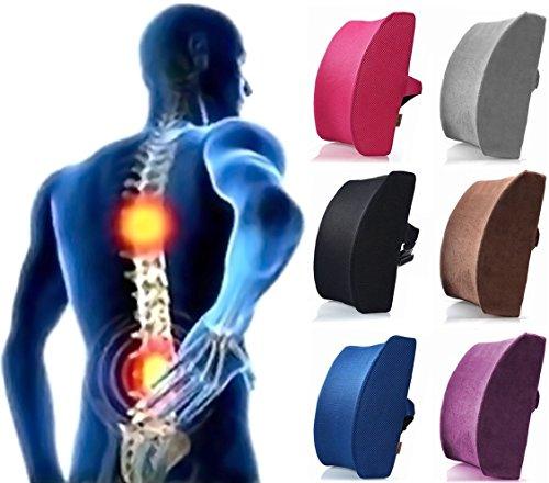 [ケンコバハンズ] 低反発 ランバーサポートクッション largeサイズ 腰枕 腰痛 予防 腰痛対策...