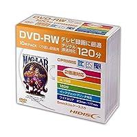 磁気研究所 HIDISC DVD-RW 録画用5mmスリムケース10P HDDRW12NCP10SC ×5セット