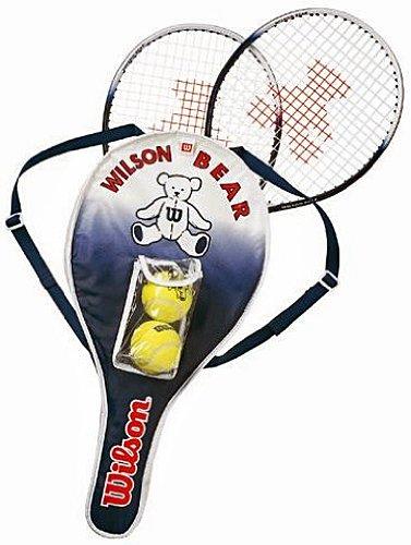 Wilson(ウイルソン) キッズ用テニスラケット BEAR RACKET SET T6164E