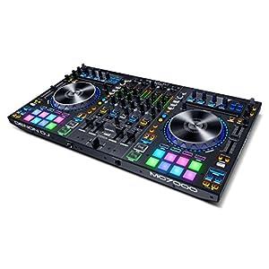 Denon DJ 4デッキ DJコントローラー 2基USBオーディオインターフェイス内蔵 Serato DJ付 MC7000