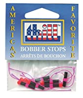 (Orange) - Thill Premium Bobber Stops and Beads; 6 - pack