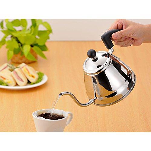 和平フレイズ コーヒー ドリップ ポット 1.0L ステンレス 日本製  IH対応 カンパーナ  CR-8877
