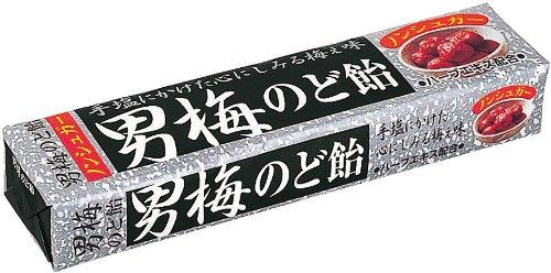 ノーベル 男梅のど飴ST 10粒×10個