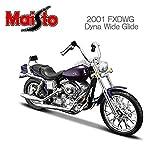 マイスト ハーレー ダビッドソン Maisto 1/18 Harley Davidson オートバイ Motorcycle 2001 FXDWG Dyna Wide Glide
