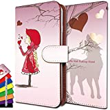 HTC U11 ケース 手帳型 赤ずきん htcu11 手帳 人気 にんき HTC カバー U11 カバー 赤ずきん 子供 赤 エイチティーシー 手帳型ケース ユー11 手帳型ケース ittn赤ずきん子供赤t0543