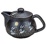 九谷焼 陶器 急須ポット はねうさぎ(茶こし付き) AK3-0584