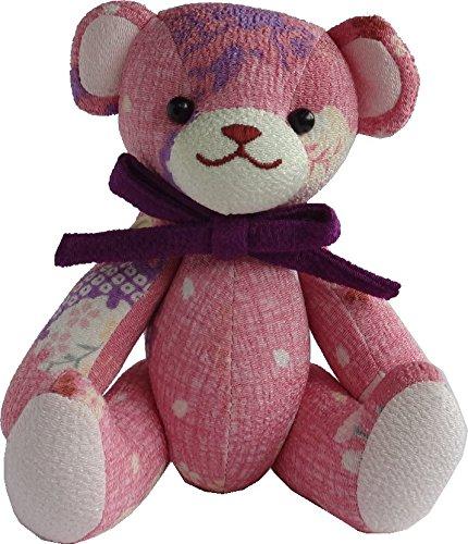 [해외]고노 하나 수화 무늬 테디 베어 및 토끼 인형 곰 토끼 교토/This Hana Pattern Teddy Bear & Rabbit Plush Doll Bear Usagi Kyoto
