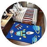 家庭用漫画子供クライミングマット寝室のベッドサイドカーペットキッチンベイウィンドウポーチマット環境保護ウォッシュ,KT-08,60×200cm