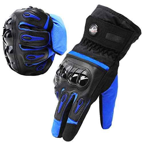【6ヶ月保証】防寒手袋 防水バイグ 保温性、衝撃緩和 撥水加...