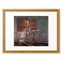 Atherton, John,1900-1952 「Christmas Eve. 1941」 額装アート作品