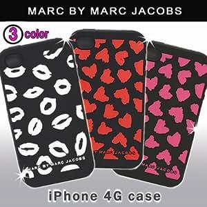 ホワイト/【MARC BY MARC JACOBS】 iPhone4ケース/マークバイマークジェイコブス アイフォン4ケース (並行輸入品)