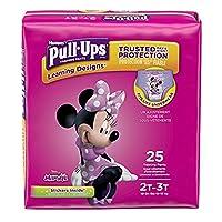 Pull-Ups Learning Designs トレーニングパンツ 女の子用 2T-3T