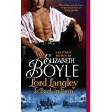 Lord Langley Is Back in Town (The Bachelor Chronicles Book 8)