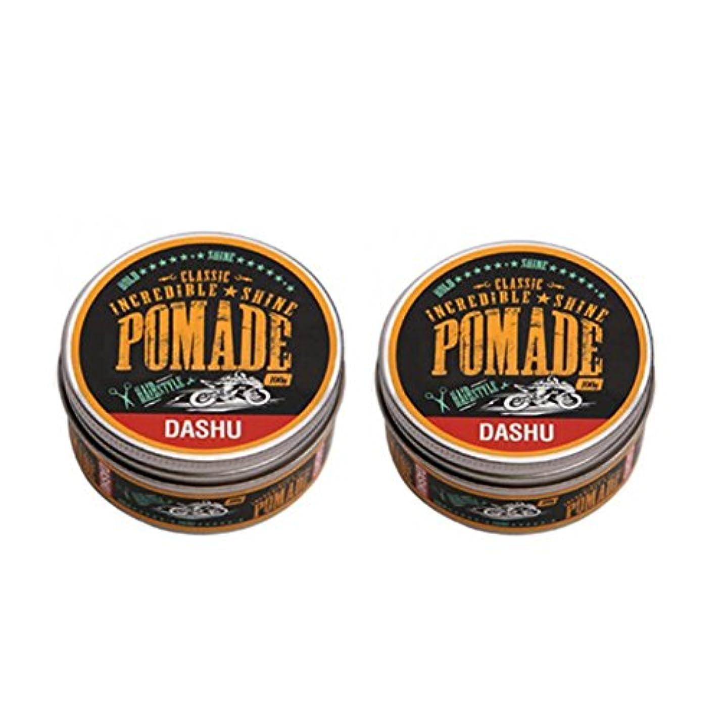 残り物誇りに思うワックス(2個セット) x [DASHU] ダシュ クラシック 信じられないほどの輝き ポマードワックス Classic Incredible Shine Pomade Hair Wax 100ml / 韓国製 . 韓国直送品