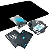 sac taske ブラック トランプ 黒い マジック カード 手品 ポーカー 大富豪 (クロースアップ マット セット)