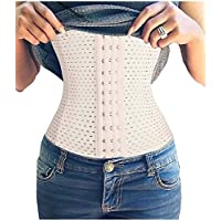 TINGLU Waist Trainer Corset Breathable Invisible Waist Shaper Training Waist Cincher Women Tummy Control