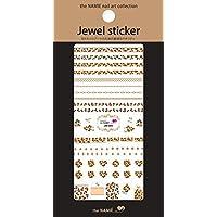 ナミエネイルアートコレクション ジュエルステッカー JW-004 (1シート)