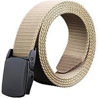 Phoenix Wonder Khaki Mens Knitting Canvas Belts Casual Waist Belt Fashionable Bales Catch Belt