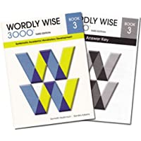 Wordly Wise 3000 Grade 3 SET -- Student and Answer Key (Systematic Academic Vocabulary Development)