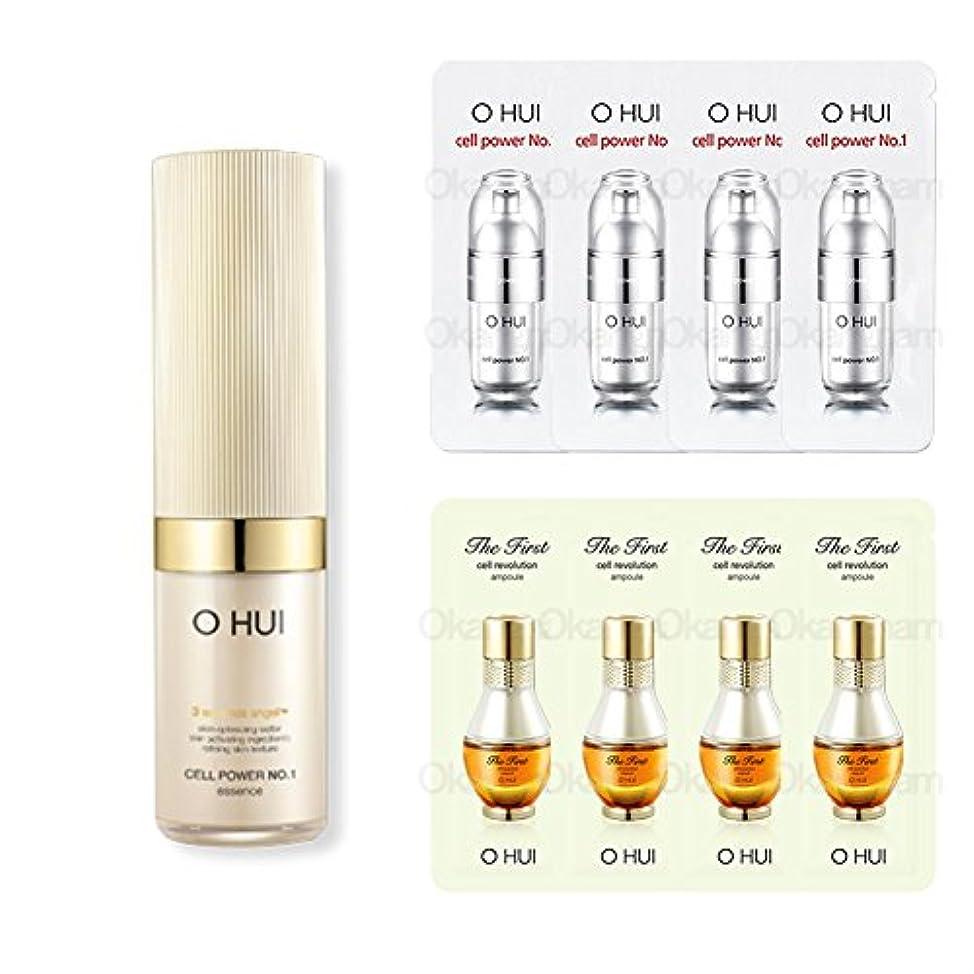 巻き取り排除海嶺[オフィ/ O HUI]韓国化粧品LG生活健康/ OHUI Cell Power No.1 Essenceセルパワーナンバーワンエッセンス70ml+[Sample Gift](海外直送品)