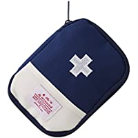 Yuehao メディカルポーチ ミニ救急箱 応急処置バッグ 携帯用救急箱 常備薬収納 コンパクト 軽量家庭学校旅行