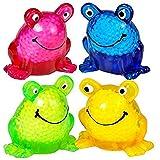 [ロードアイランドノベルティー]Rhode Island Novelty 2.5 Sticky Squeeze Frogs 5097877 [並行輸入品]