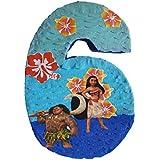 数6 Pinata Inspired by Moana