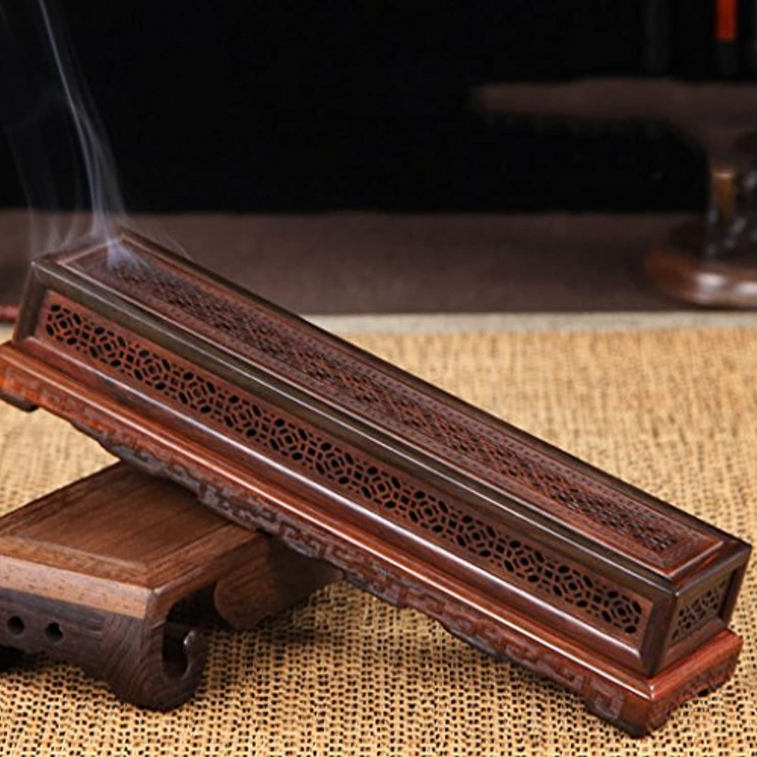 拡散するのれん小石(ラシューバー) Lasuiveur 香炉 香立て 渦巻き線香 線香立て お香立て