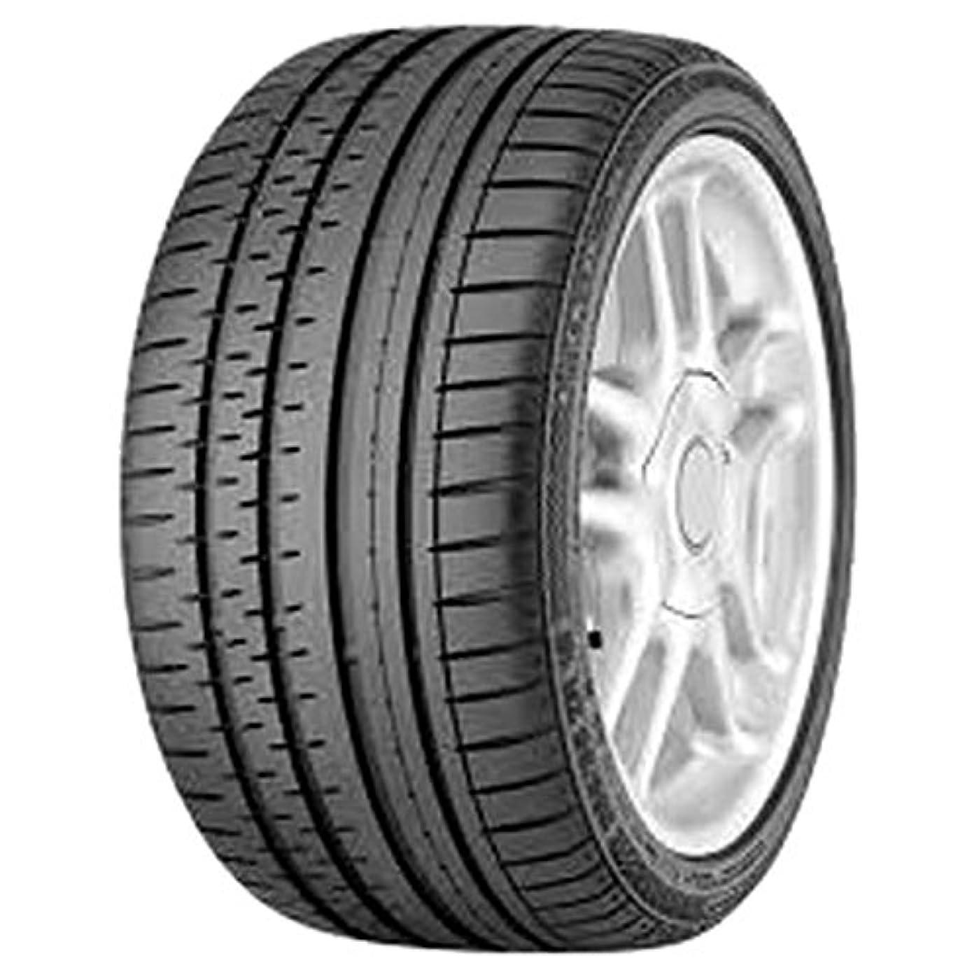 適応的完璧なセージサマータイヤ 225/45R17 91W コンチネンタル コンチスポーツコンタクト2 SSR ランフラット BMW承認 ContiSportContact 2 SSR