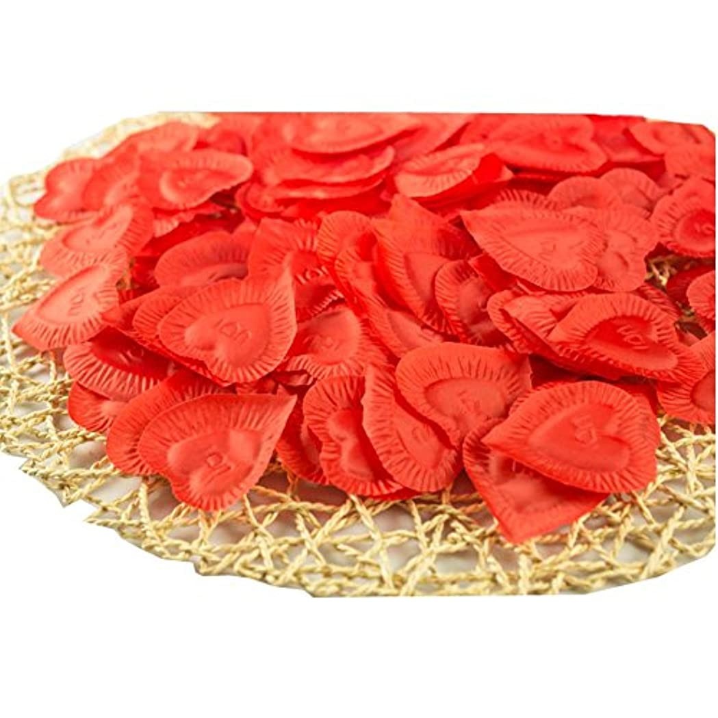 人工花の花びらバレンタイン結婚パーティーデコレーション840個