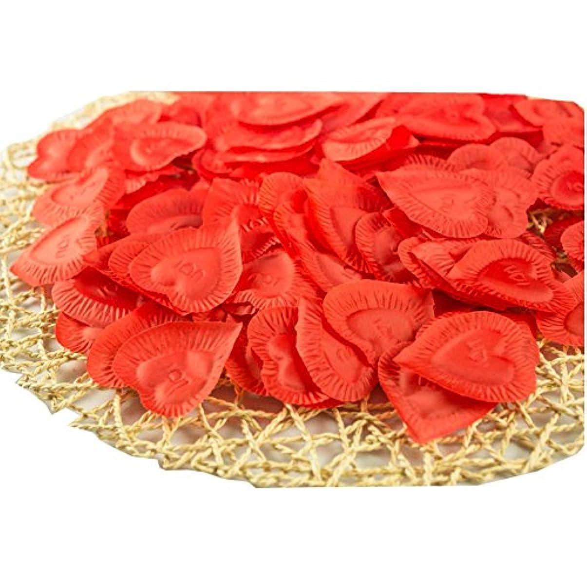 ディレイ重要な即席人工花の花びらバレンタイン結婚パーティーデコレーション840個
