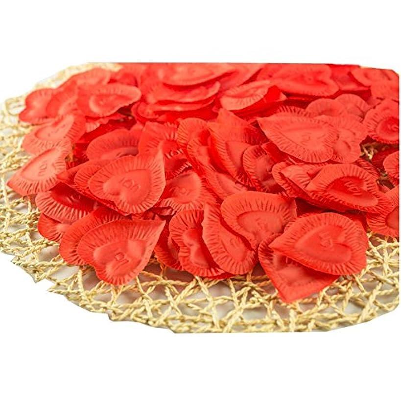 密接ににんじんカナダ人工花の花びらバレンタイン結婚パーティーデコレーション840個
