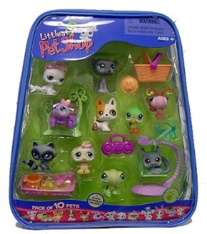 Littlest Pet Shop (リトルペットショップ) Exclusive Mega 10 Pack of Pets(並行輸入)