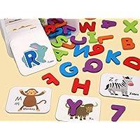 YChoice 知育パズル 子供 かわいい木製 認知パズル 早期教育 数字の形 カラー 動物玩具 素晴らしいギフト 子供
