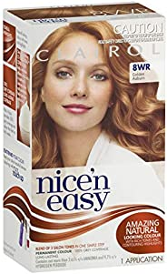 Clairol Nice'n Easy Permanant Hair Colour, 8wr Golden Auburn, 1 c